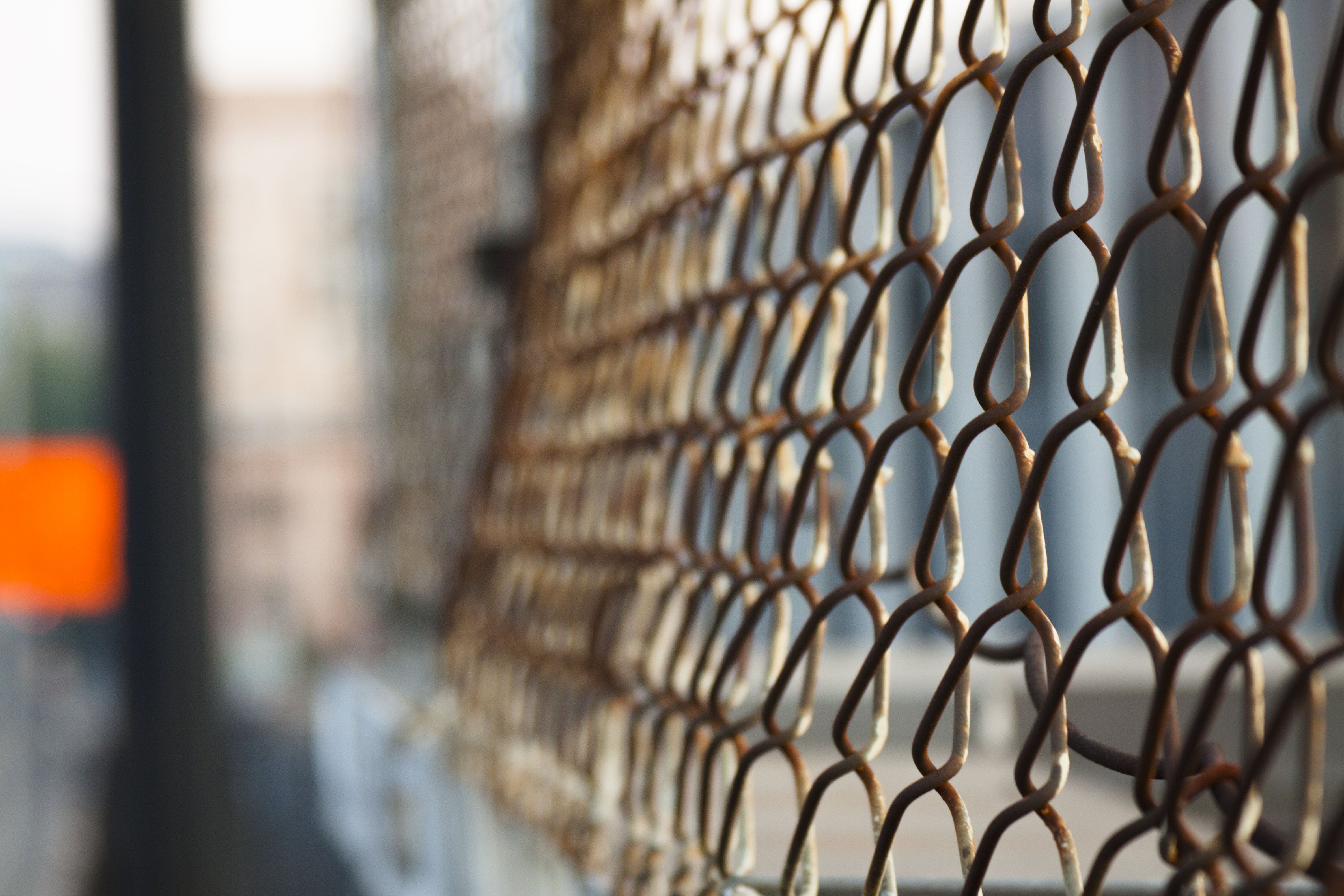 of chain, chainlink, countdown, fence
