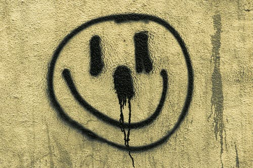 Immagine gratuita di graffitti, smiley di