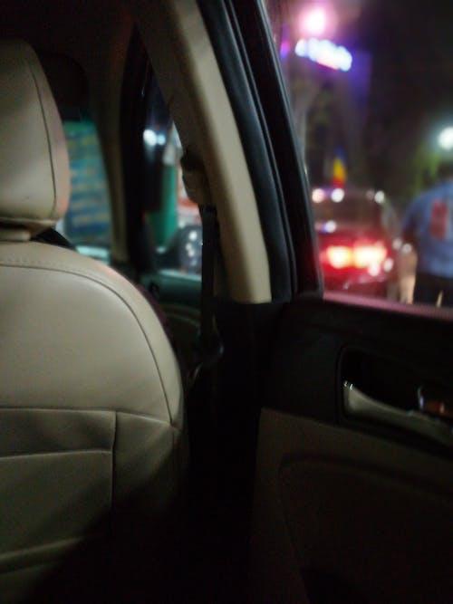 Foto stok gratis berkendara malam hari, fotografi malam, lampu malam