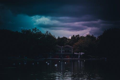 Free stock photo of blue sky, dark, dramatic
