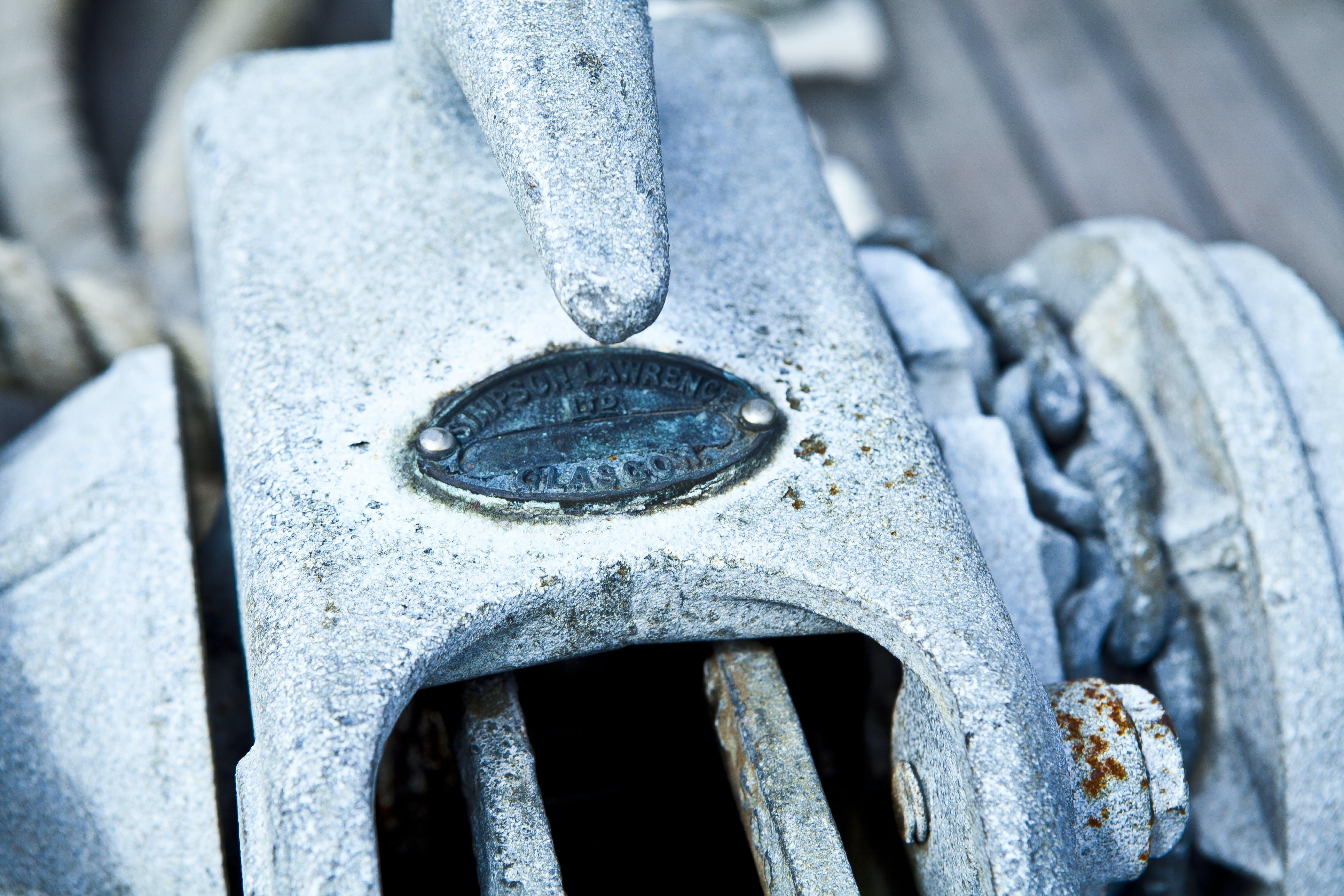 Kostenloses Stock Foto zu anker, blau, boot, boot seil