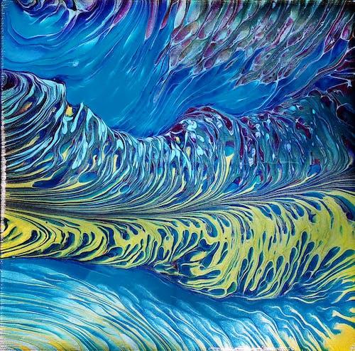 Free stock photo of acrylic painting