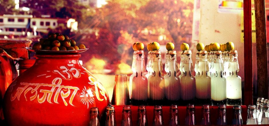 arabic, bar, bottles