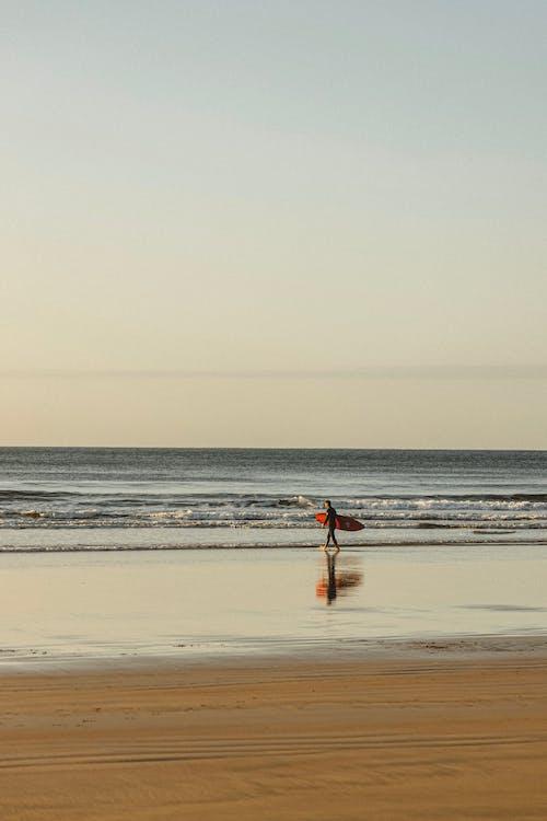 Photos gratuites de aube, bleu, bord de mer, côte