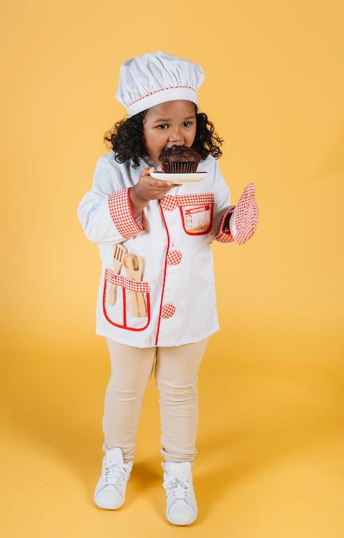 兒童, 全身, 养分, 制服 的 免费素材图片