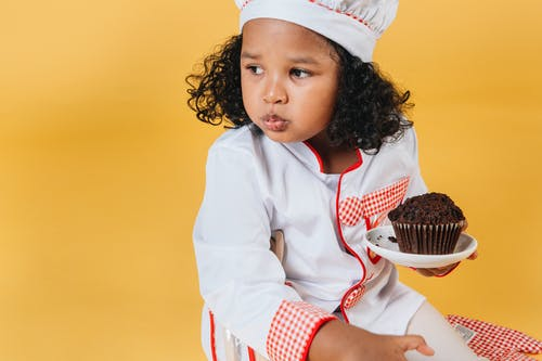 兒童, 制服, 口感, 可口 的 免费素材图片