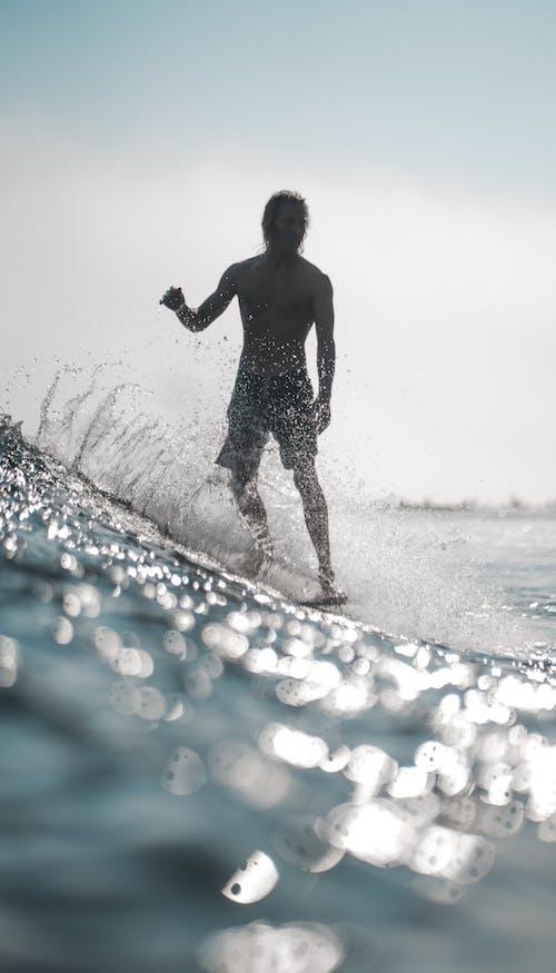 Δωρεάν στοκ φωτογραφιών με aqua, Surf, άθλημα