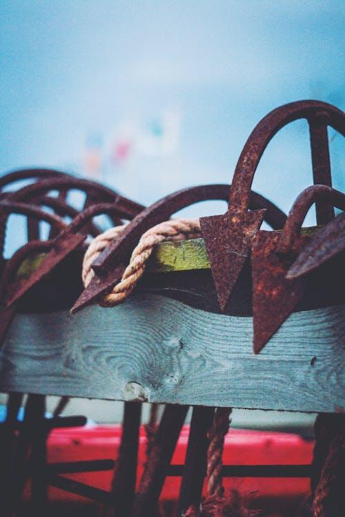 Fotobanka sbezplatnými fotkami na tému kotva, lano, more, šíp