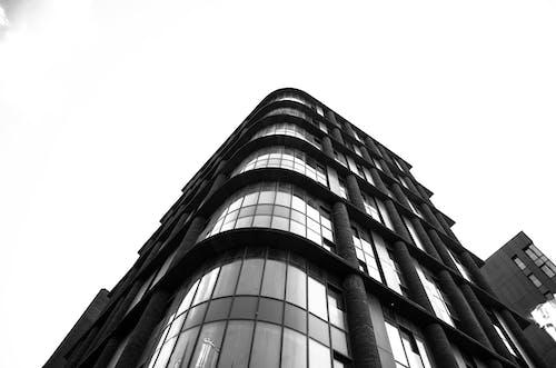 ガラスアイテム, ガラス窓, シティ, ビジネスの無料の写真素材