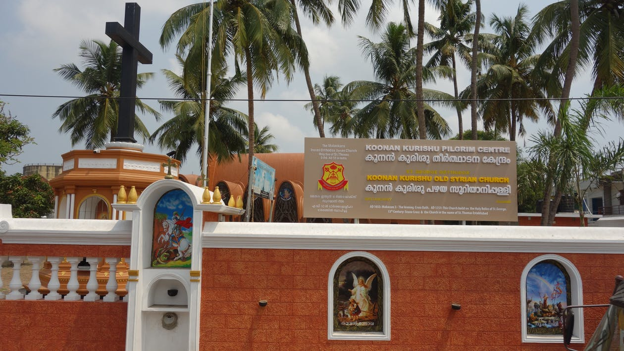 Free stock photo of fort kochi church, kerala, mattancherry orthodox church