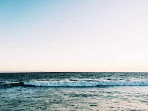 地平線, 天空, 招手, 水 的 免費圖庫相片