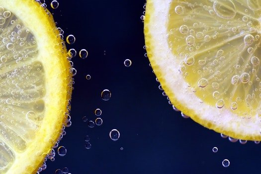 Free stock photo of food, healthy, lemon, macro