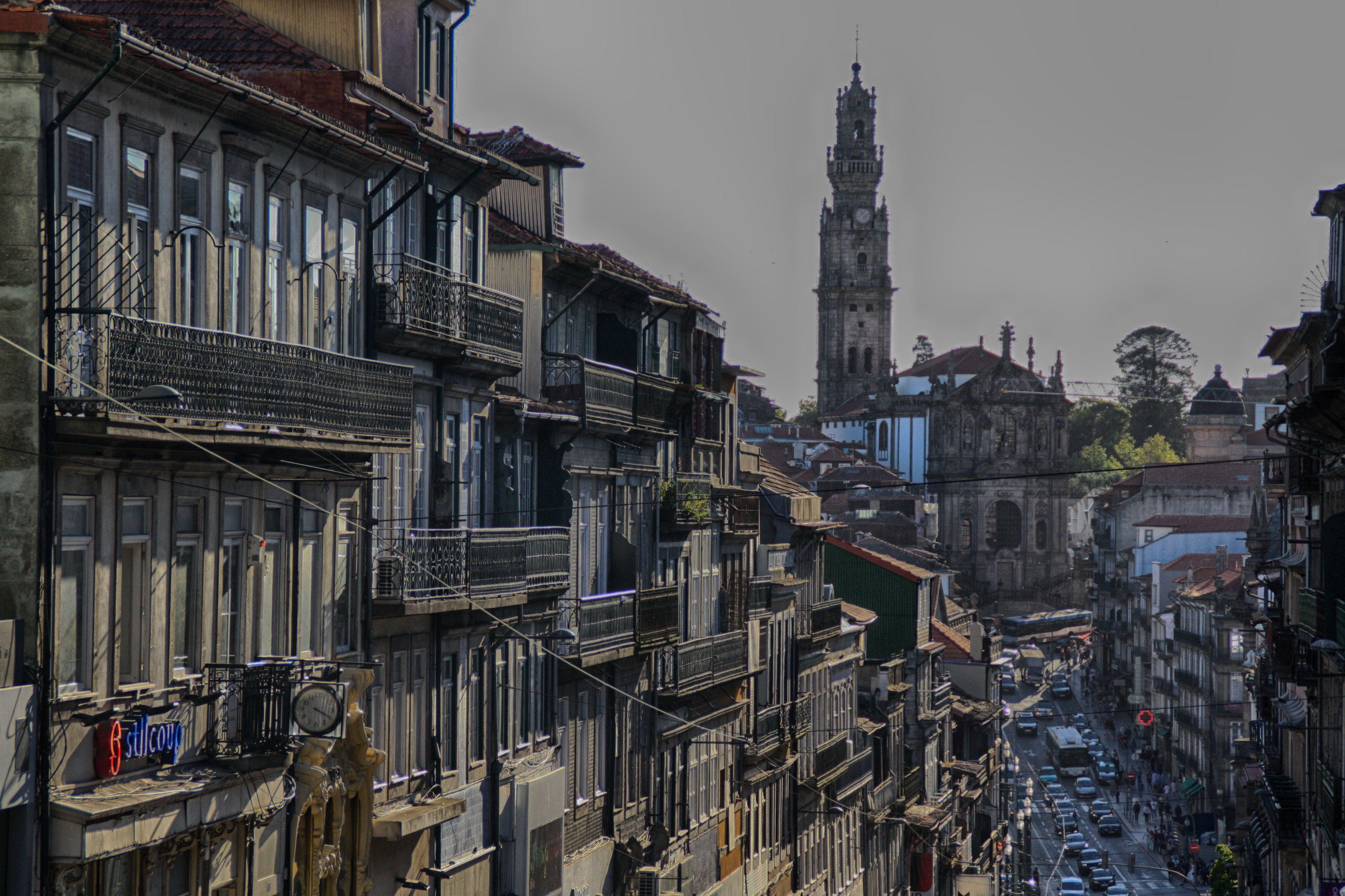 Free stock photo of oporto, portugal, street