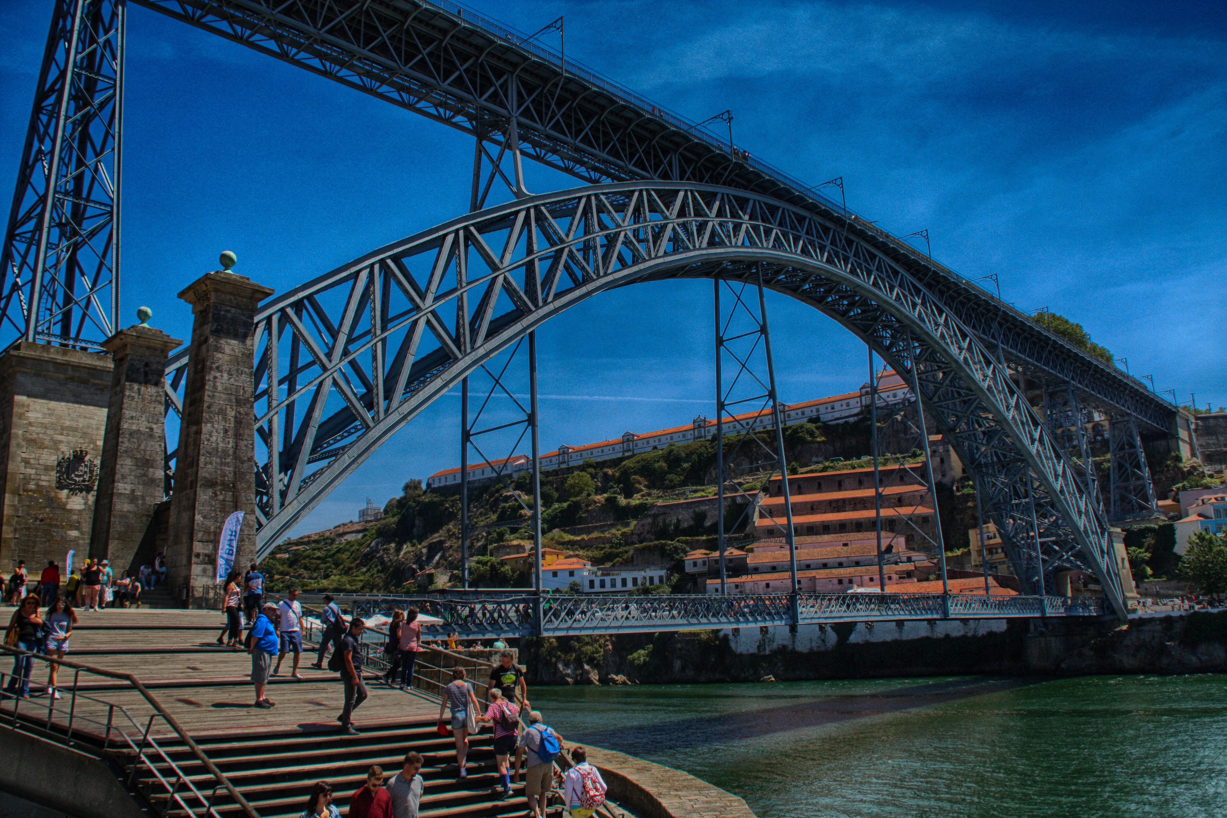 Free stock photo of bridge, oporto, portugal