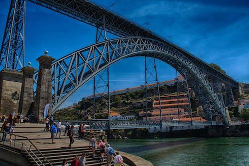 Gratis arkivbilde med bro, oporto, portugal