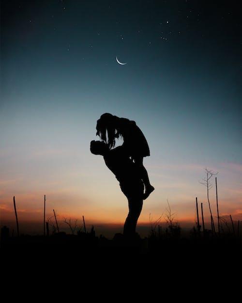 Photos gratuites de à contre-jour, amour, aube, bonheur