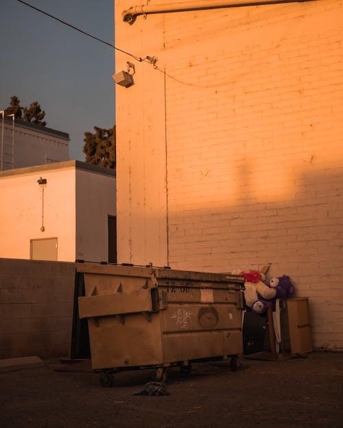 Gratis stockfoto met afval, container, dumpster