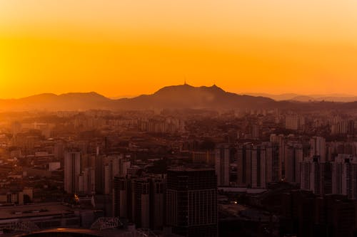 Gratis lagerfoto af #sunset #brazil #saopaulo #sun #sky