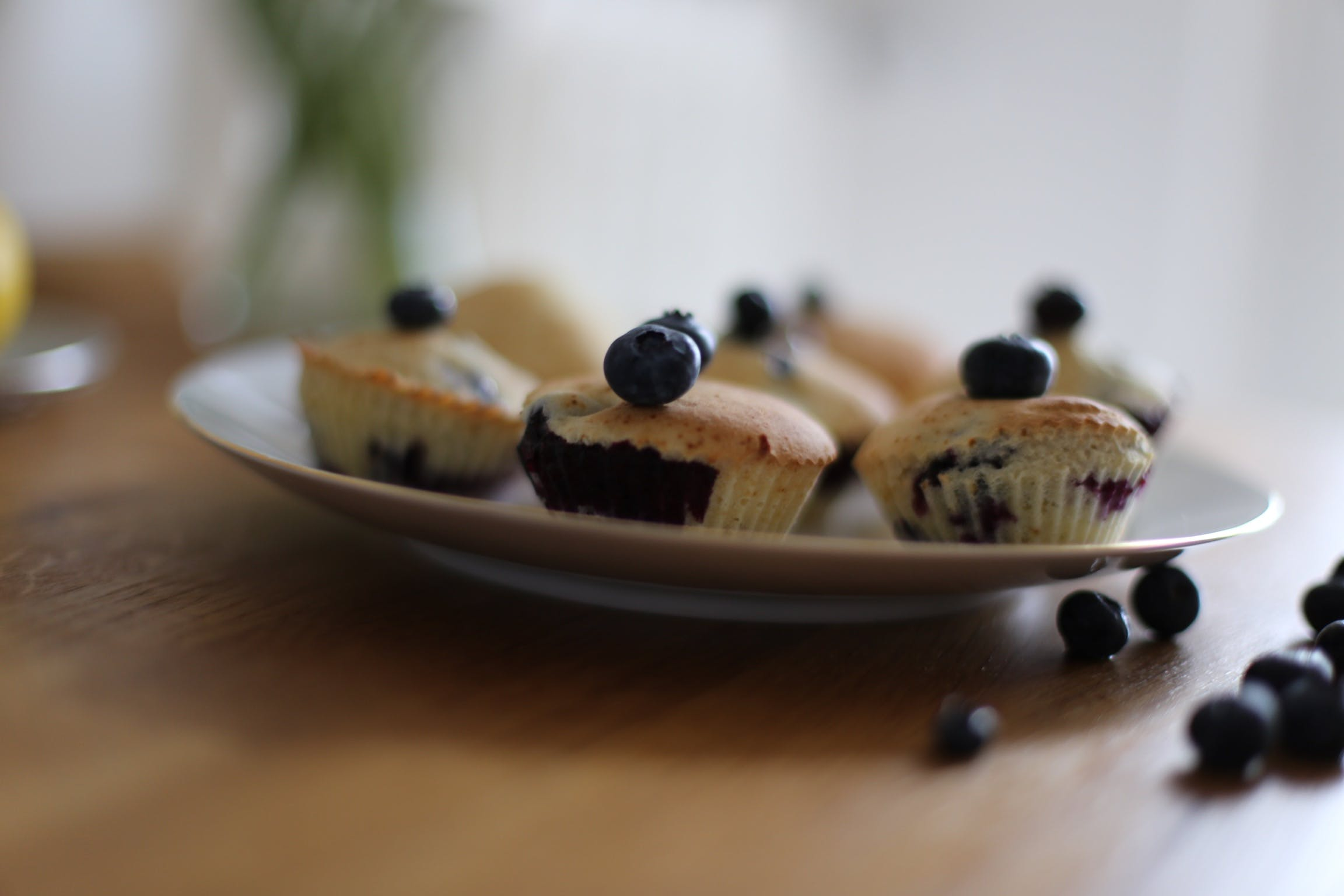 Free stock photo of blueberries, blueberry, blueberry muffins, close up