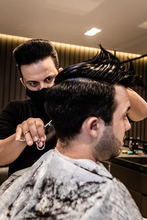 Photos gratuites de à l'intérieur, à la mode, adulte, barbier