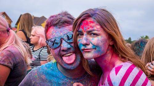 Free stock photo of celebrating, celebration, colorful, crowd