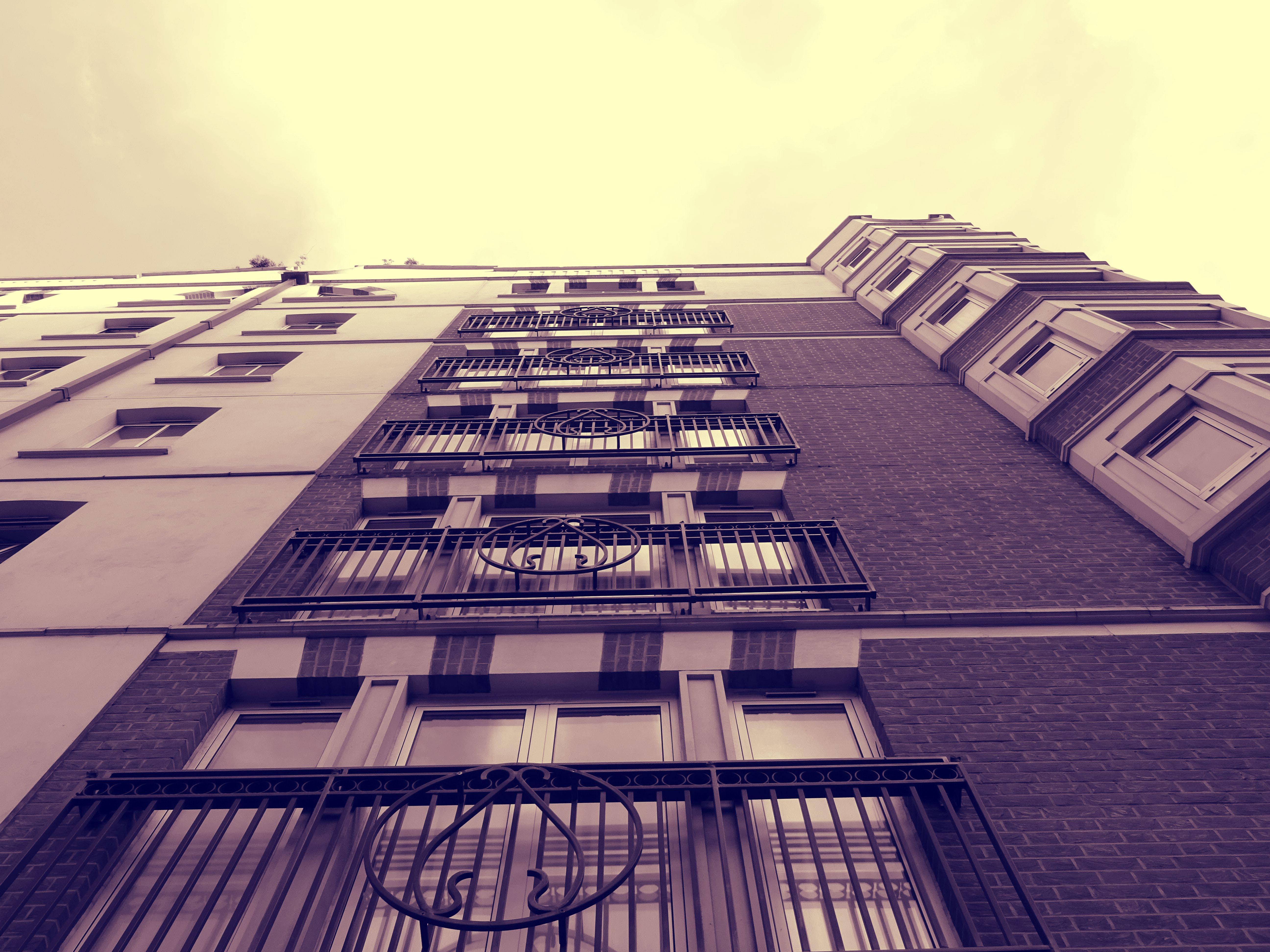 apartmán, architektonický návrh, balkony