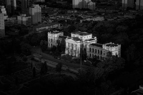 Free stock photo of dark, museum, street