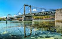 water, building, bridge