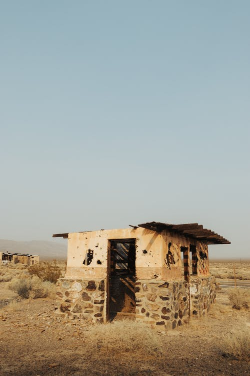 Základová fotografie zdarma na téma bez oblačnosti, bouda, budova