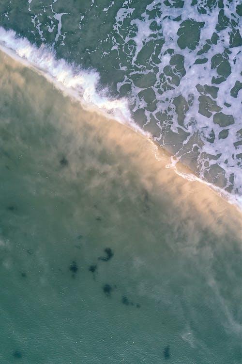 Photos gratuites de aube, blanc, bleu, bord de mer