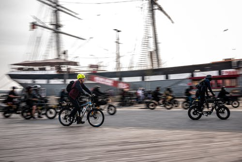 Free stock photo of bike, bikes, biking group