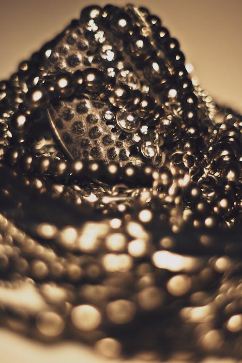 Fotobanka sbezplatnými fotkami na tému makro, šperky, strieborná