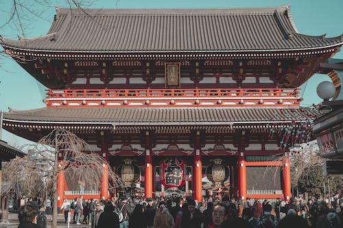 Ingyenes stockfotó áll, álló, buddhista templom témában