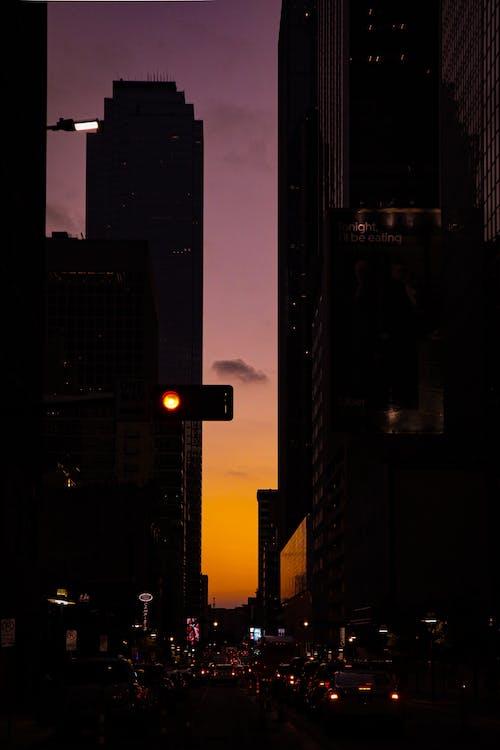 Free stock photo of redlight, streetphotography, sunset