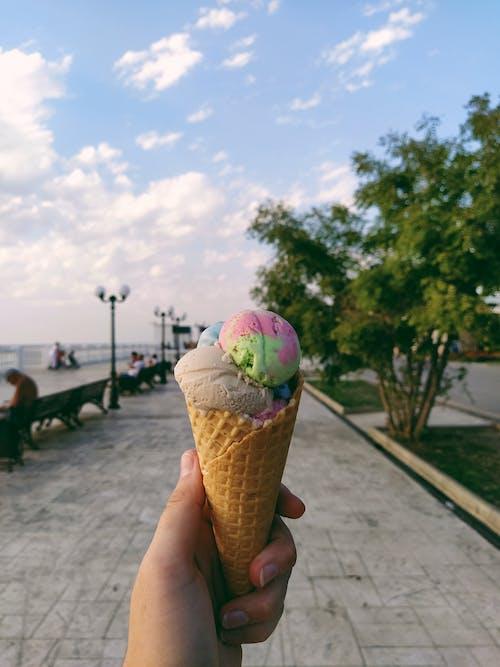 Photos gratuites de crème glacée, dessert, glace