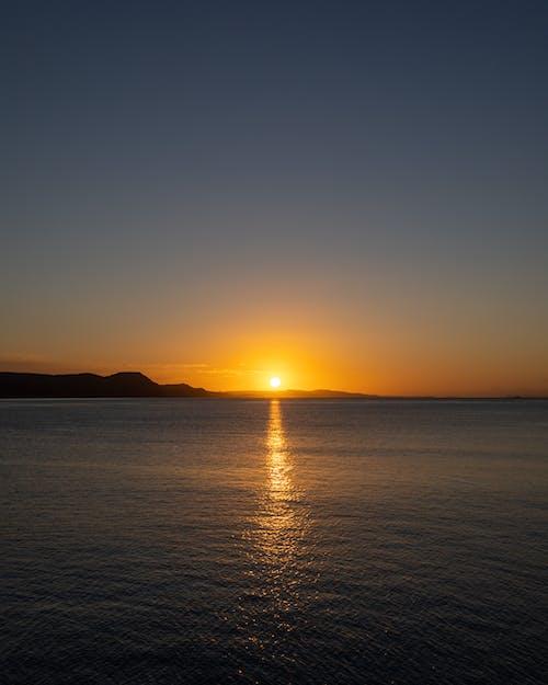 シースケープ, シルエット, ビーチ, 光の無料の写真素材