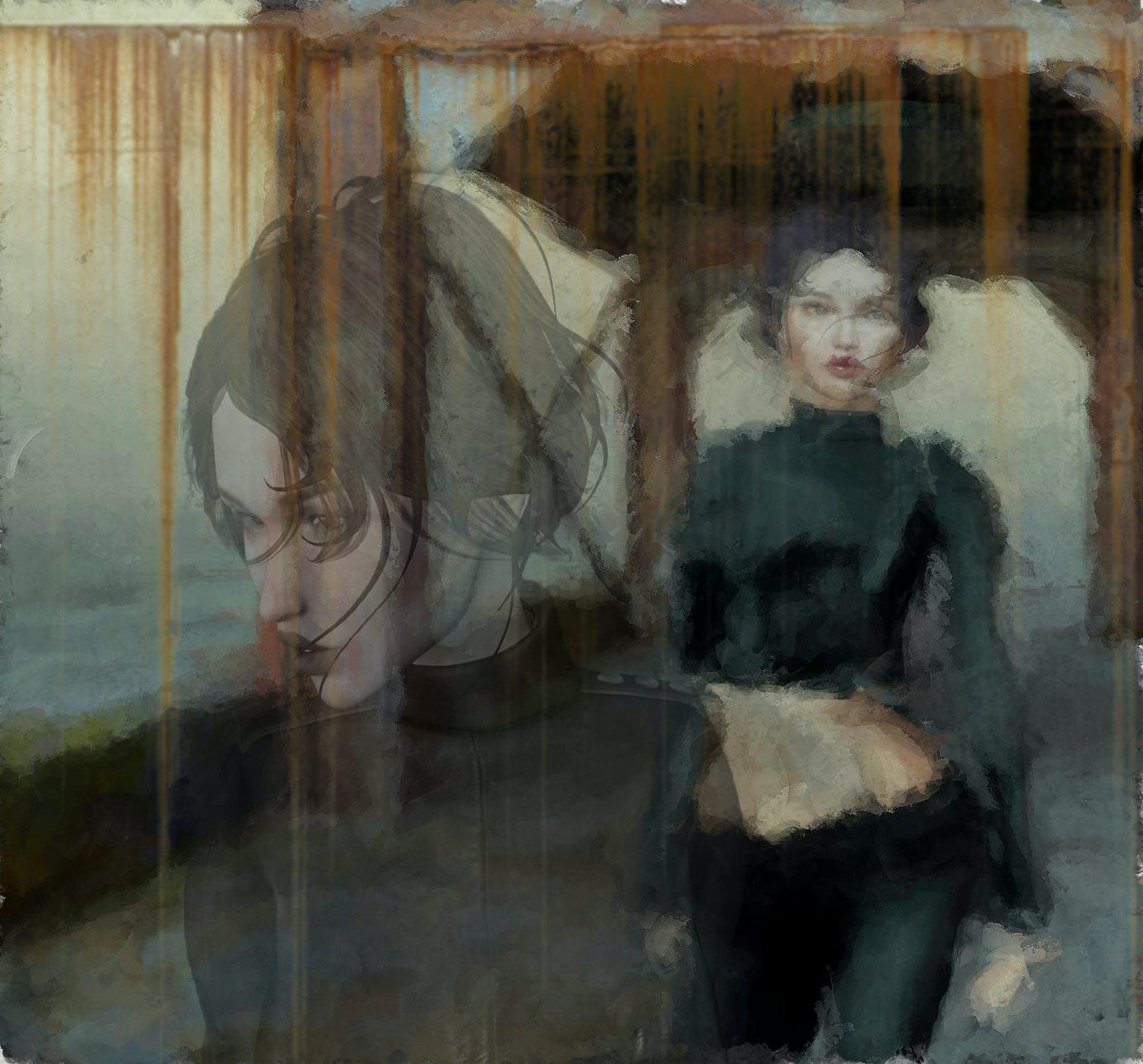 Free stock photo of girl, rust