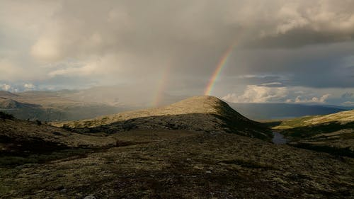 Rainbow over the Mountain