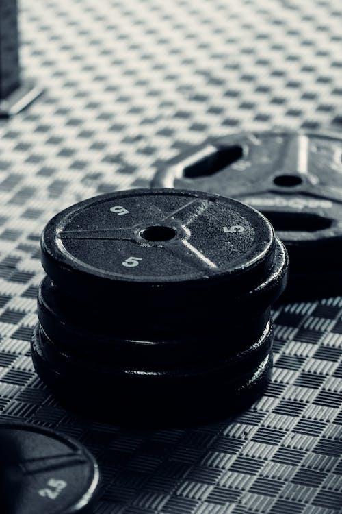 Foto d'estoc gratuïta de acer, aixecament de peses, benestar, conjunt