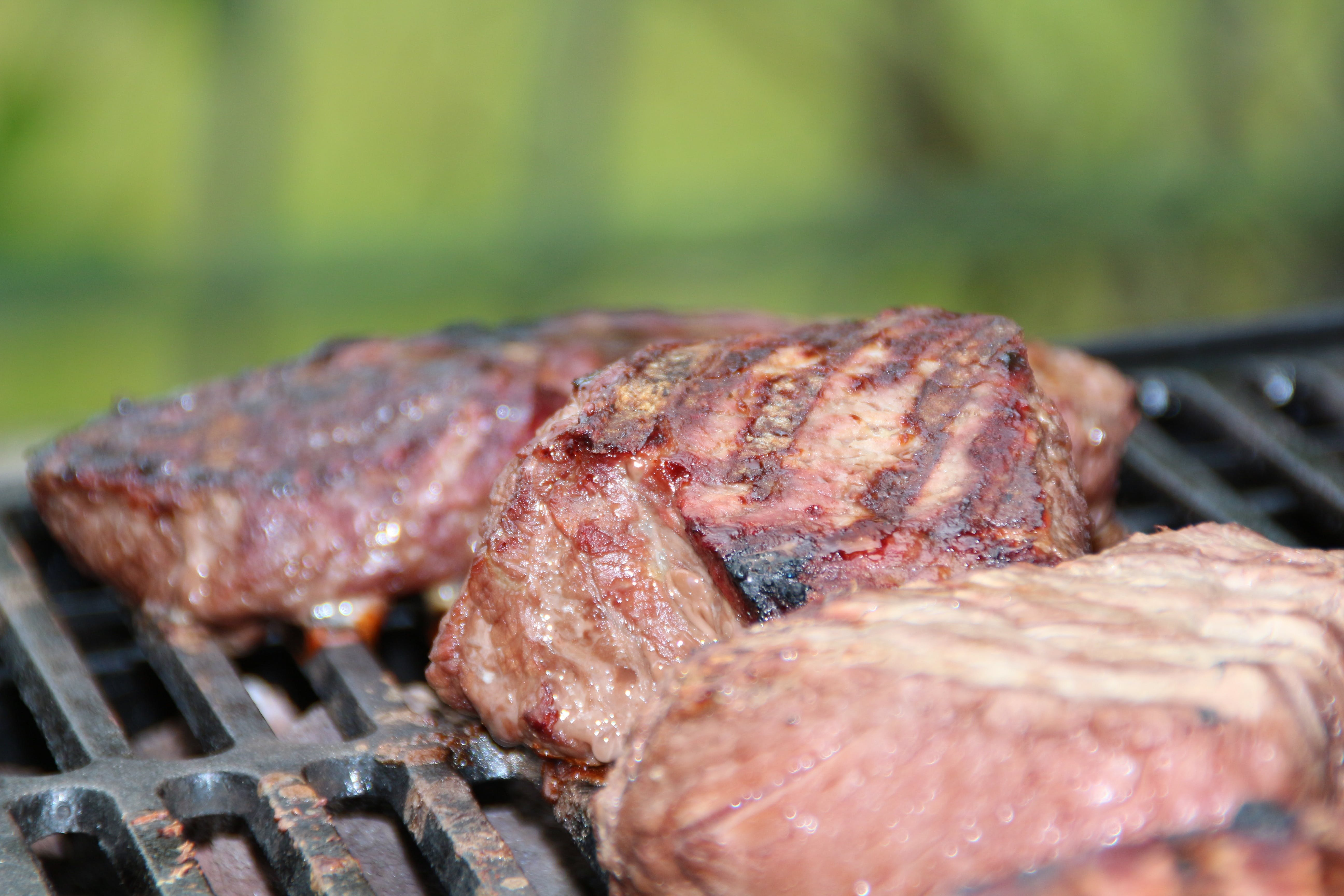 Grilled Meat during Daytime