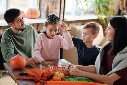 A Family Spending Bonding Time