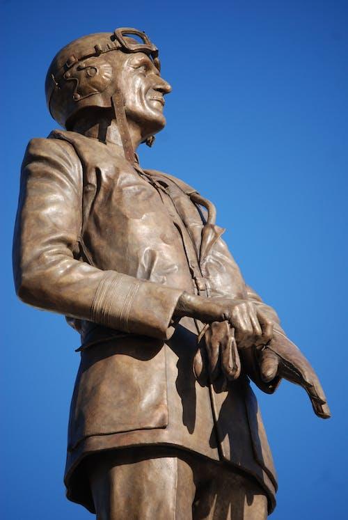Man Brass Statue