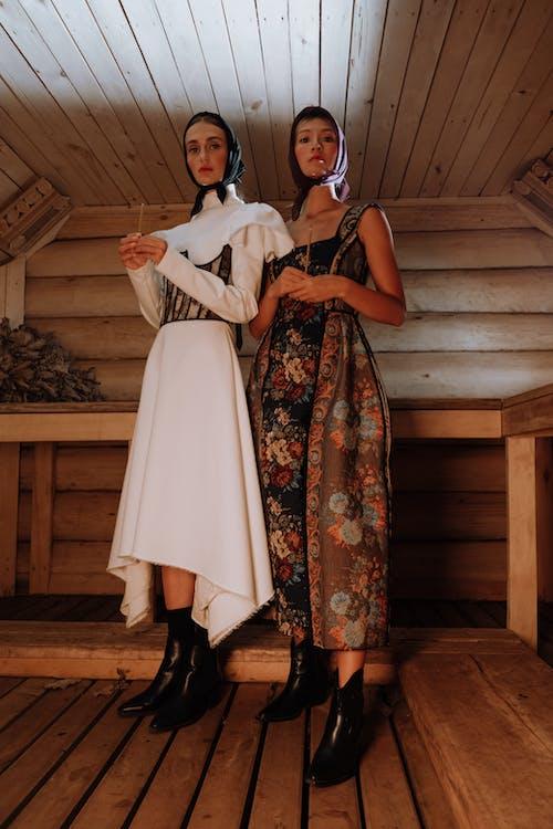 Women Wearing Designer Dresses