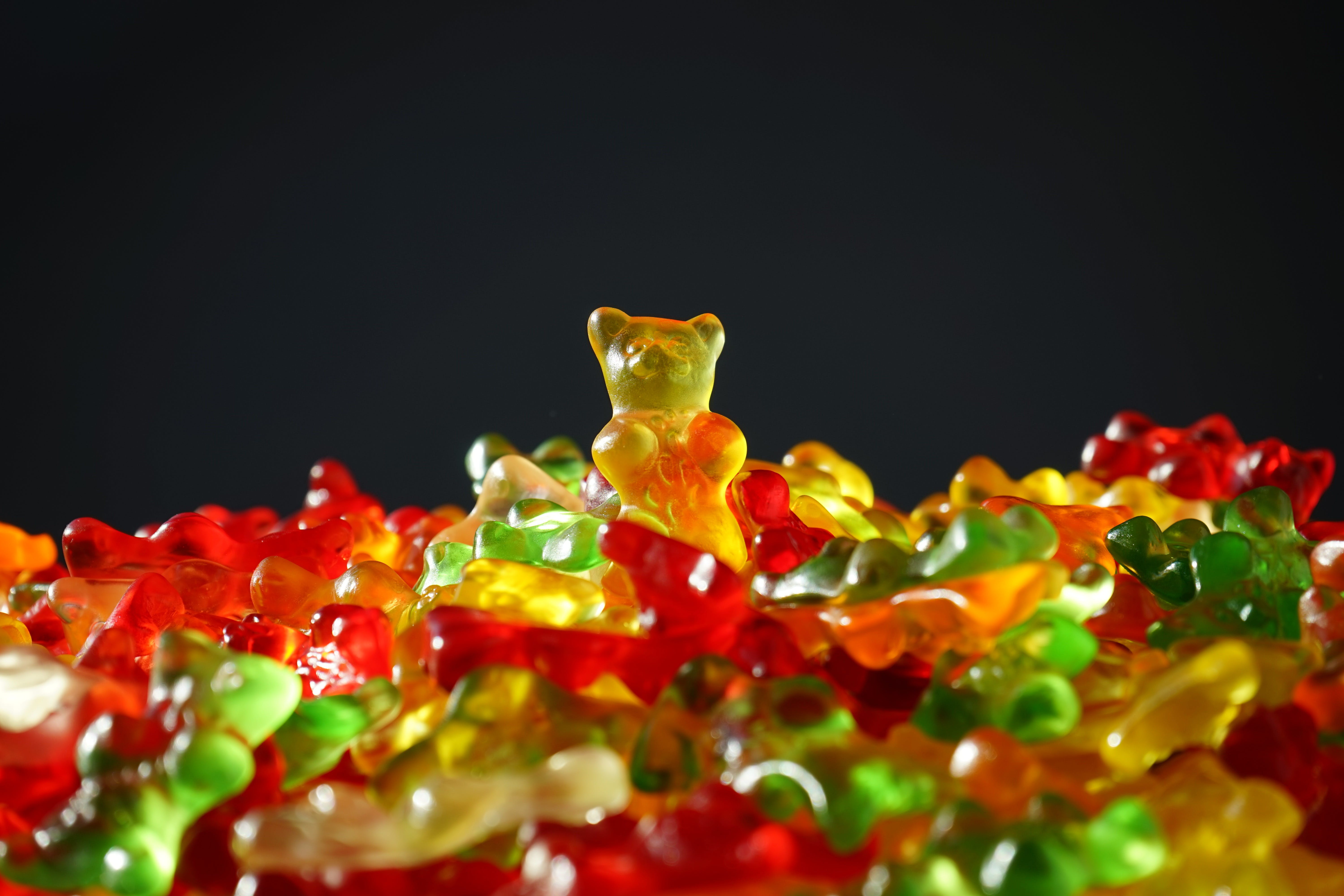 Multicolored Gummy Bears