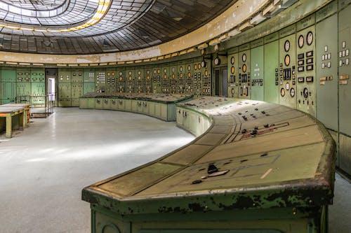 Darmowe zdjęcie z galerii z elektrownia, elektryczny, konsola, sterownia