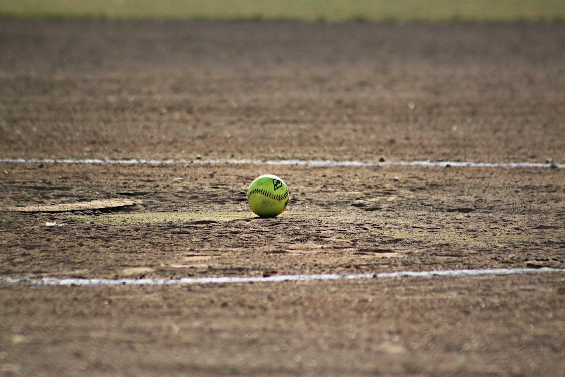 공, 들판, 소프트볼