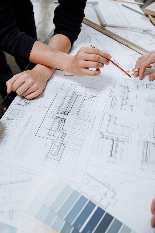 Fotobanka sbezplatnými fotkami na tému architekt, architektonický dizajn, diagram