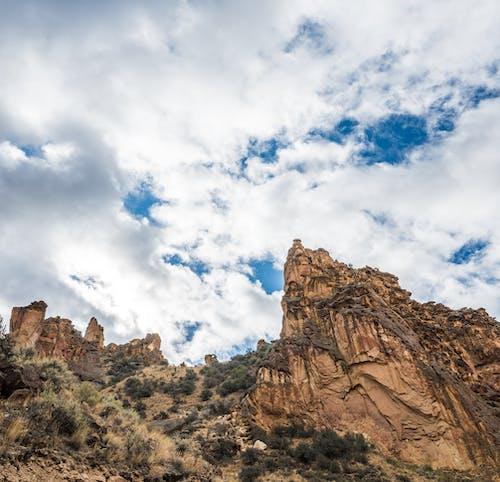 Kostenloses Stock Foto zu abhang, berg, bewölkt