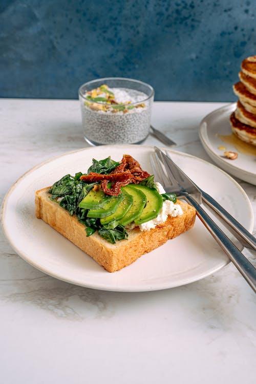 foodphotography, 三明治, 乳製品, 乾杯 的 免費圖庫相片