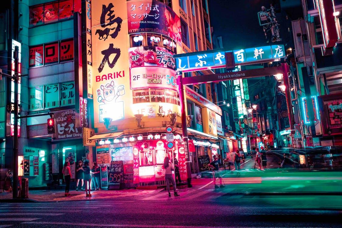 Foto profissional grátis de arquitetura, Ásia, brilho